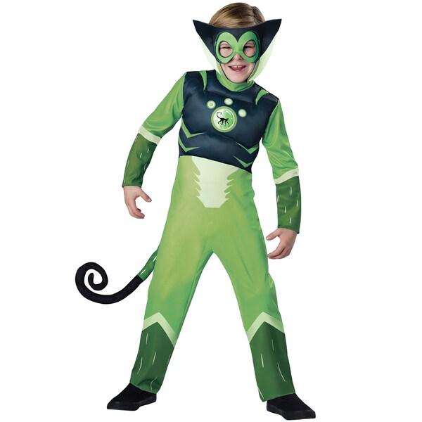 Wild Kratts Muscle Green Spider Monkey Costume