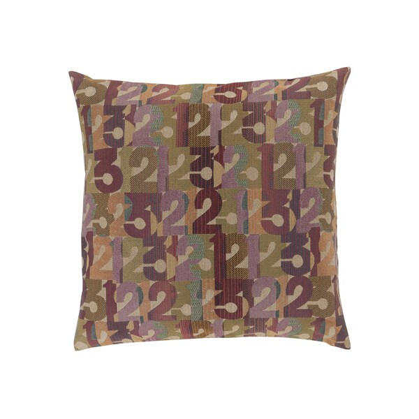 Mike Farrell : Decorative Bingley Graphic Print 18-inch Pillow