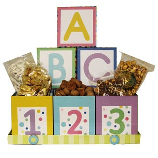 Art of Appreciation ABC's and 123's Neutral Baby Gift Set
