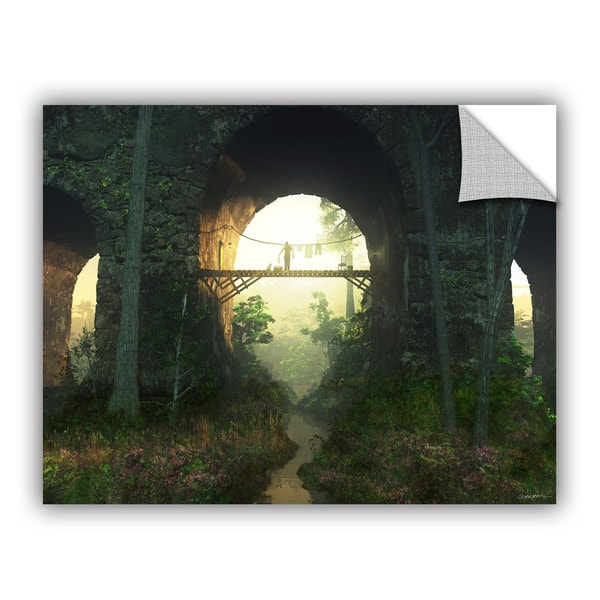 ArtAppealz Cynthia Decker 'Bridge Under The Bridge' Removable Wall Art