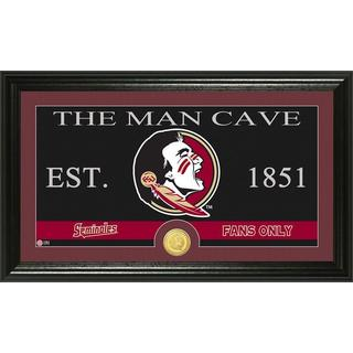 Florida State University 'Man Cave' Bronze Coin Panoramic Photo Mint