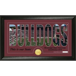 Mississippi State University 'Word Art' Bronze Coin Photo Mint