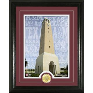 Texas A and M University 'Campus Traditions' Bronze Coin Photo Mint