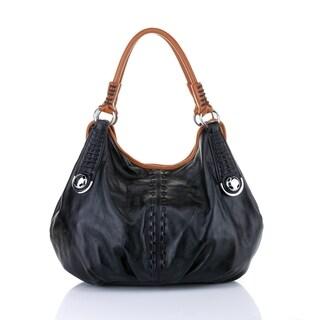 Lisa Italian Leather Handbag