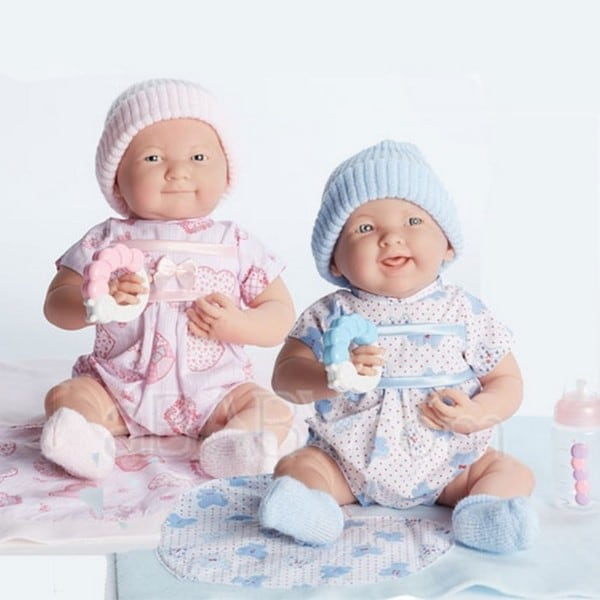 Cuddly Twin Dolls Gift Set
