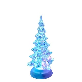 Kurt Adler 10-inch Battery Operated Acrylic Lighted Christmas Tree