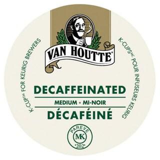 Van Houtte Decaffeinated Medium Coffee K-Cup Portion Pack for Keurig Brewers