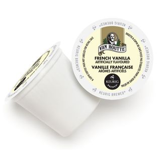 Van Houtte French Vanilla Coffee K-Cup Portion Pack for Keurig Brewers
