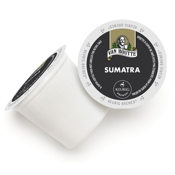 Van Houtte Sumatra Fair Trade Extra Bold K-Cup Portion Pack for Keurig Brewers