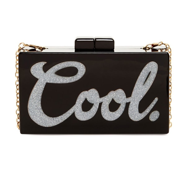 Pink Haley Cool Box Clutch