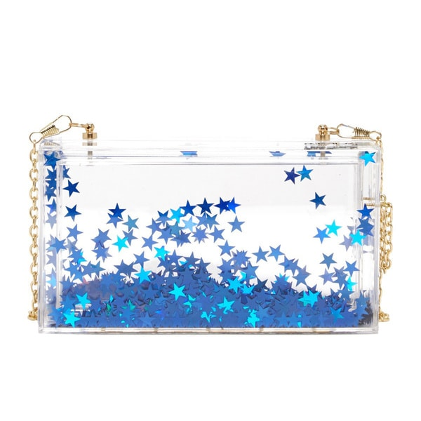 Pink Cosmo Haley Stars Clutch