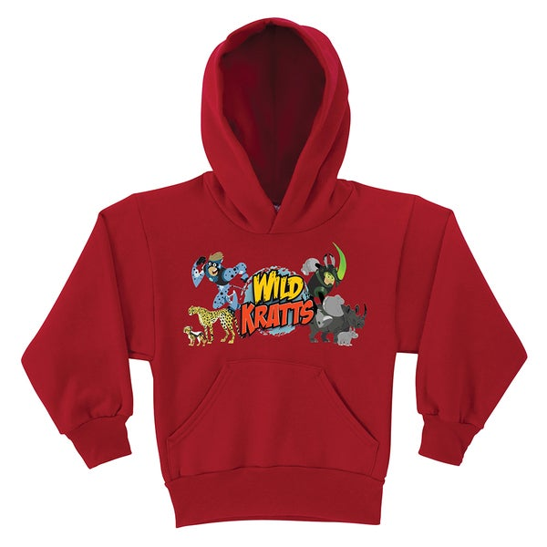 Wild Kratts Creature Adventure Red Youth Hoodie