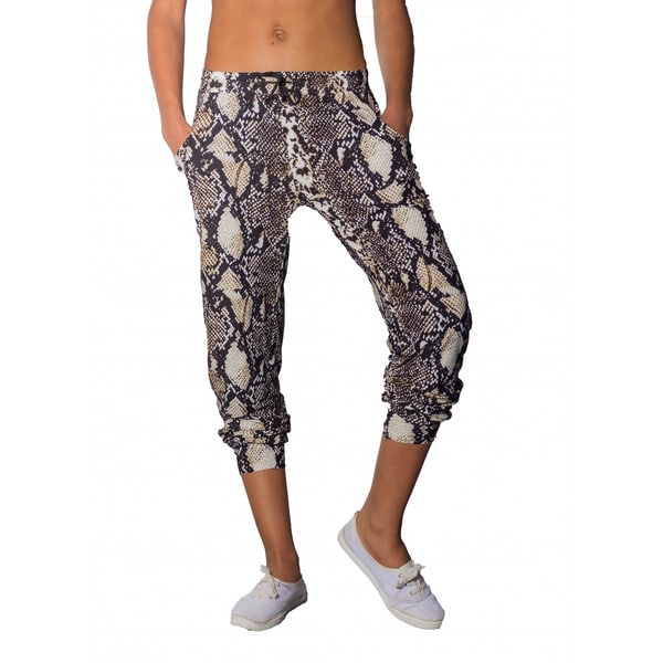 Women's Python Printed Jogger