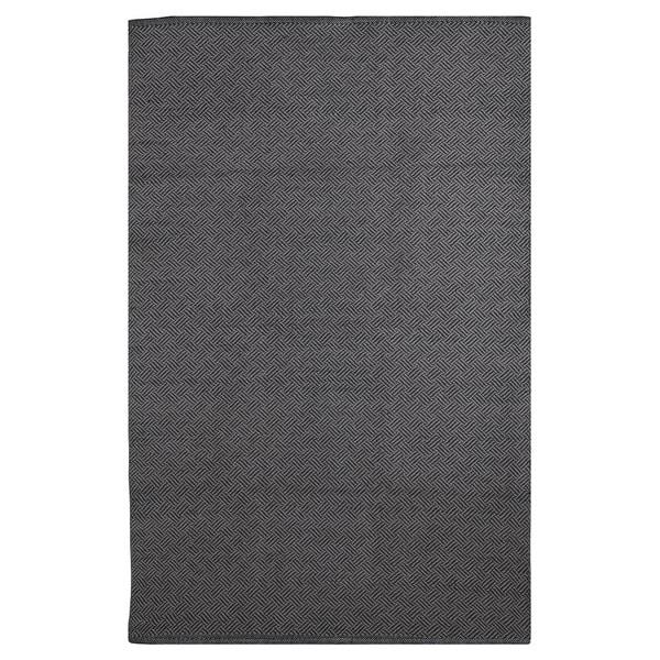 Handmade Karma - Black & Grey (2' x 3') (India) 16312771