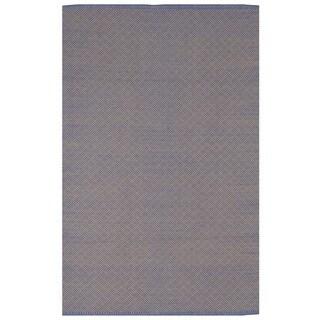 Karma - Blue & Almond (2' x 3')