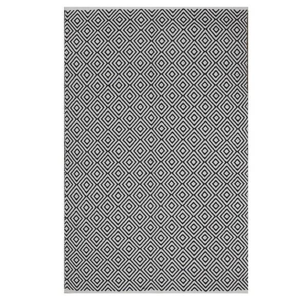 Handmade Veria - Black (2' x 3') (India) 16312789