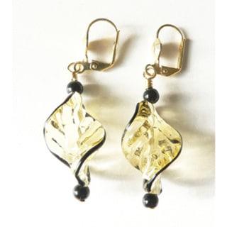 Palmtree Gems Delphine Dangle Earrings