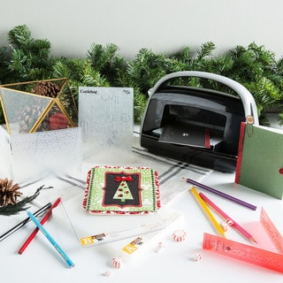 Cricut Cuttlebug Die Cutting and Embossing Holiday Kit (Limited Edition)
