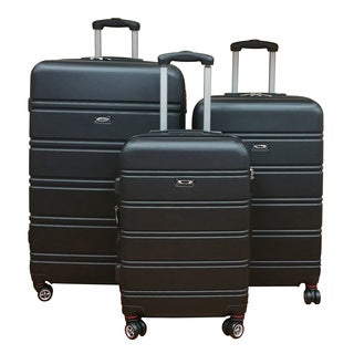Kemyer 3-piece Hardside Expandable Spinner Luggage Set