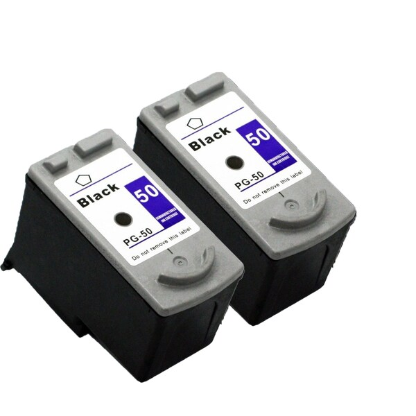2 Pack PG-50 Black Compatible Ink Cartridge For Canon MP150 160 170 (pack of 2)