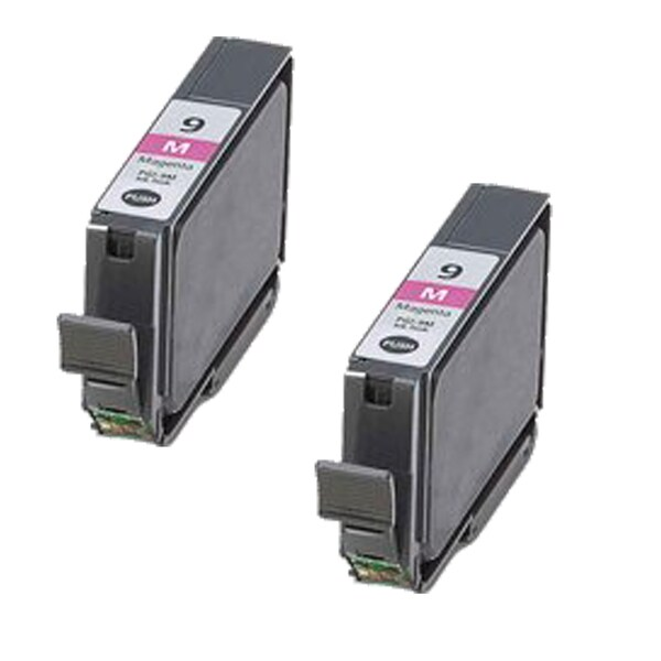 2 Pack PGI-9M Magenta Compatible Ink Cartridge For Canon PIXMA Pro9500 (pack of 2)