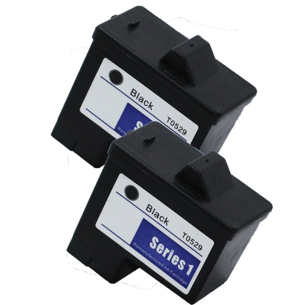 2PK T0529 Black Compatible Ink Cartridge For Dell Photo 720 A920 (pack of 2)