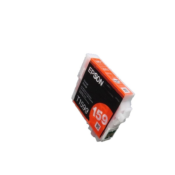1PK T1599 Orange Compatible Ink Cartridge For Epson R2000 (pack of 1)