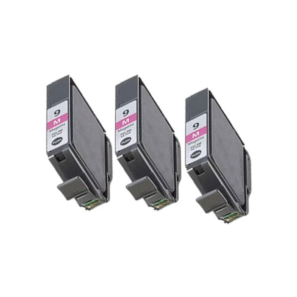 3 Pack PGI-9M Magenta Compatible Ink Cartridge For Canon PIXMA Pro9500 (pack of 3)