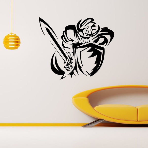 Crusader Knight Vinyl Wall Art Decal Sticker