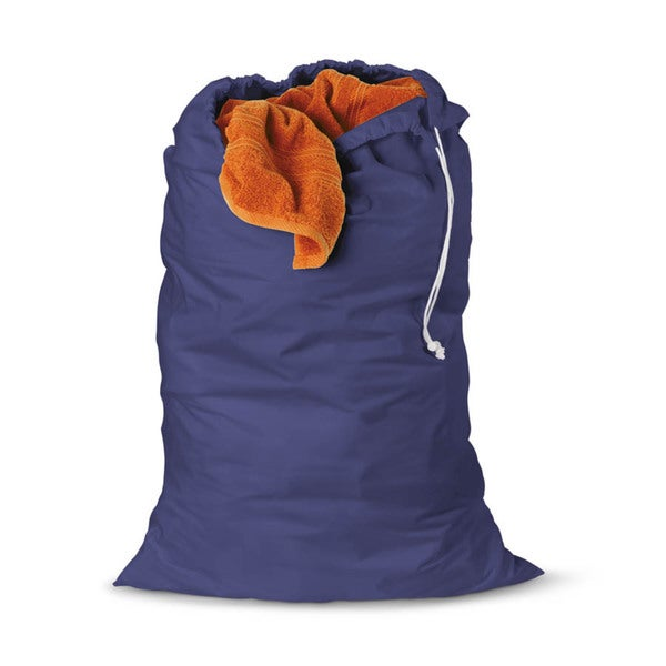 Honey Can Do Blue Cotton Laundry Bag 2-pack