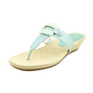Anne Klein Women's 'Ita' Synthetic Sandals