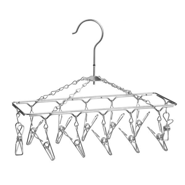 Honey Can Do Dry-01102 Chrome Hanging Drying Rack