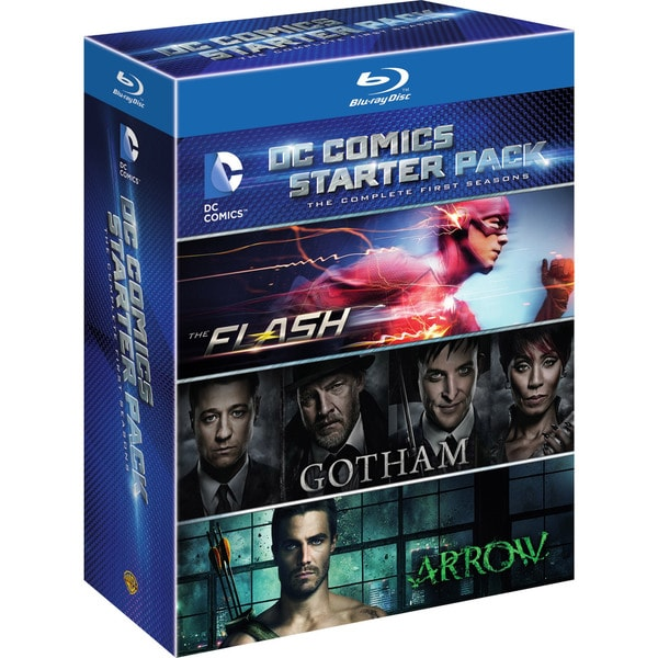 DC Starter Pack (Flash/Arrow/Gotham Seasons 1) (Blu-ray Disc) 16316359