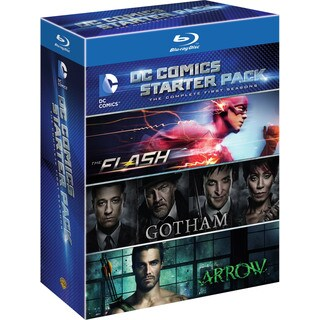 DC Starter Pack (Flash/Arrow/Gotham Seasons 1) (Blu-ray Disc)