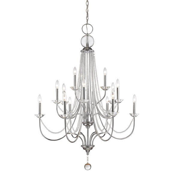 Z-Lite Serenade 15-lights Chrome Chandelier