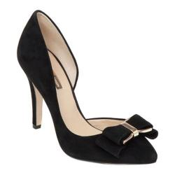 Women's BCBGeneration Chester Pointed Toe Pump Black Kidsuede