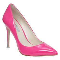 Women's BCBGeneration Treasure Pump Flash Pink Synthetic Patent