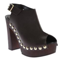 Women's Charles David Ciao Platform Brown Leather