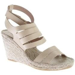Women's Charles David Ona Ankle Strap Sandal Natural Leather