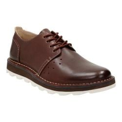 Men's Clarks Darble Walk Lace Up Shoe Chestnut Leather