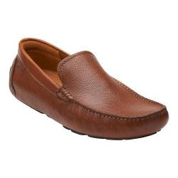 Men's Clarks Davont Drive Tan Tumbled Leather