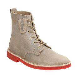 Men's Clarks Desert Mali Taupe Distressed