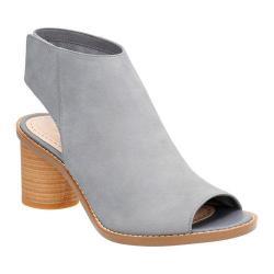 Women's Clarks Glacier Charm Ankle Strap Sandal Grey/Blue Nubuck
