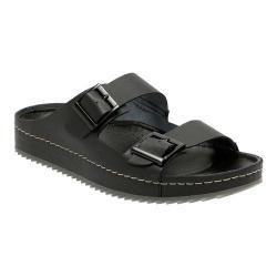 Men's Clarks Netrix Free Slide Black Leather