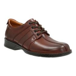 Men's Clarks Touareg Vibe Sneaker Brown Full Grain Leather/Leather