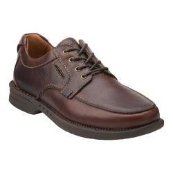 Men's Clarks Untilary Pace Moc Toe Shoe Brown Leather