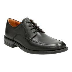 Men's Clarks Un.Bizley View Oxford Black Leather