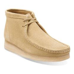 Men's Clarks Wallabee Boot Maple Suede