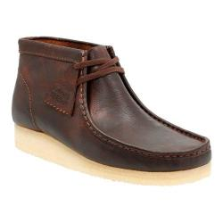 Men's Clarks Wallabee Boot Rust Leather