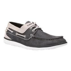 Men's GBX East Boat Shoe Black Suede